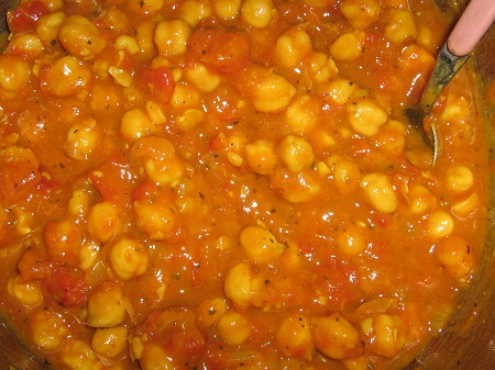 chickpea pumpkin curry