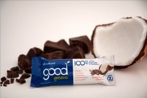 Chocolate Coconut Good Greens Bar