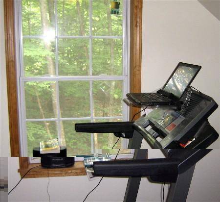 Zenpawn » Blog Archive » Surfshelf Treadmill Desk. Help Desk Support Software Free. Gold Console Table. Chairside Tables. Triangle Corner Table